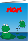 Mother's Day Frogs Customizable card