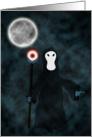Grim Reaper Death Halloween Card