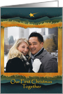 Our First Christmas Together as Married Couple, Photo Card