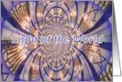 Messianic Hanukkah, Light of the World card