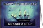To Grandfather on Father's Day, Sailing Ship card