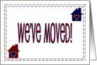 We've Moved - New Address card