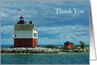 Round Island Thank You Card