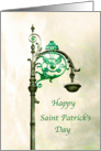 Saint Patrick's Day Shamrock Card