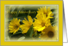 Wife Happy Anniversary Sunflowers Card