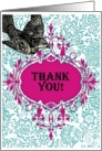 Thank You! Black Bird card