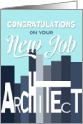 Congratulations on New Job Architect card