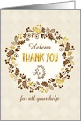 Customizable Thank You Card - Pretty Little Nature card