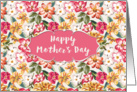 Mother's Day Card - Very Floral card
