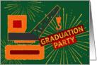 Graduation Party Invitation - Heavy Equipment Operator card