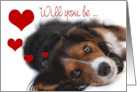 Valentines Card - Irresistibly Cute Pup card