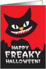 Happy FREAKY Halloween card