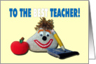 Teacher Appreciation Day - You Rock! card