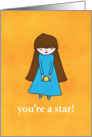 You&rsquo;re A Star! card
