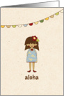 Aloha - Hello - Goodbye card
