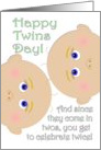 Happy Twins Day! card