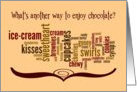 National Chocolate Day - How Many Different Ways card