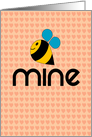 Bee Mine, Valentine card