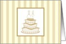 Wedding - Civil Union/Commitment Ceremony card