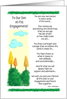 To Our Son - Engagement Gay card