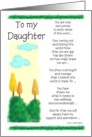 Coming Out - To my Daughter card
