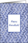 Happy Hanukkah! card