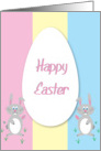 Happy Easter Cute Bunny card