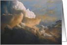 Cloud Study, painting by Adam Thomas card