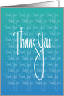 Business Thank you & Employee Appreciation card