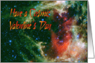 Have a Cosmic Valentines Day card