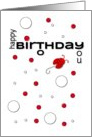 Happy Birthday to You Ladybug and Polka Dots card