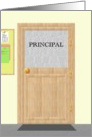 Thank you principal, Principal's office card