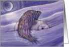 Polar Bear Angel - Christmas Holiday Card