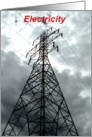 electricty, power lines, tower, love, romance card