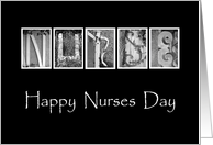 Nurses Day - Alphabet Art card
