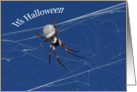 Spider-It's Halloween card