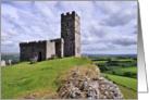 Brentor Church, Dartmoor National Park - Blank card