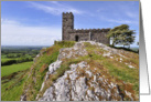 Brentor Church, Dartmoor National Park - Blank card
