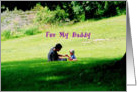 Daddy and Me 1st Fathers Day card