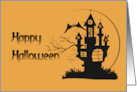 Happy Halloween Haunted Mansion Card