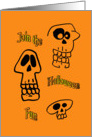 Join the Halloween Fun Party Invitations card