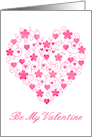 Be my valentine, valentine's day, valentine, love, romance, pink card