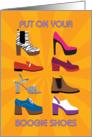 70s Disco Party Invitation card