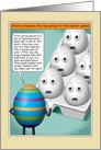 Funny Easter Egg Games card