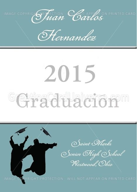Buy gifts graduation announcements - 2013 Spanish Language Graduation Announcement card