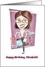 Customizable, Happy Birthday, Administrative Assistant card